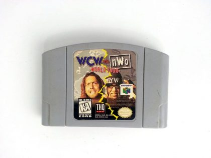 WCW World Tour game for Nintendo 64 N64 - Loose