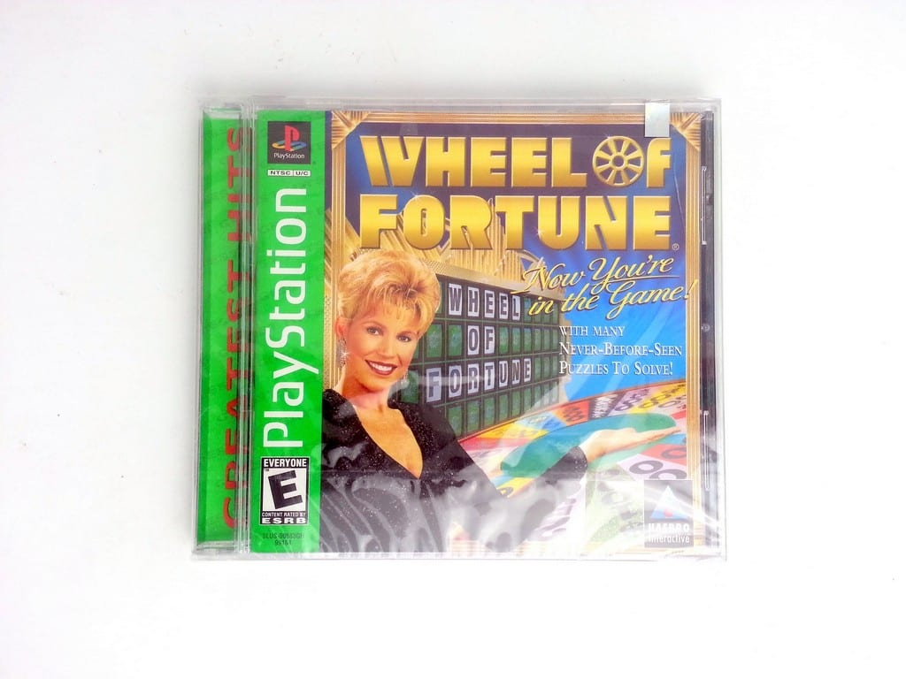 Wheel of Fortune game for Sony Playstation PS1 PSX - New