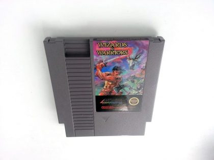Wizards and Warriors game for Nintendo NES - Loose