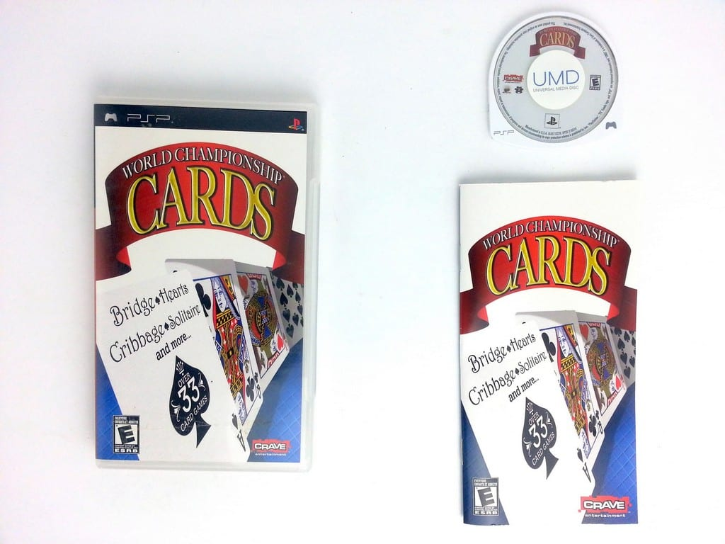 World Championship Cards game for Sony PSP -Complete