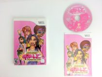 Action Girlz Racing game for Nintendo Wii -Complete