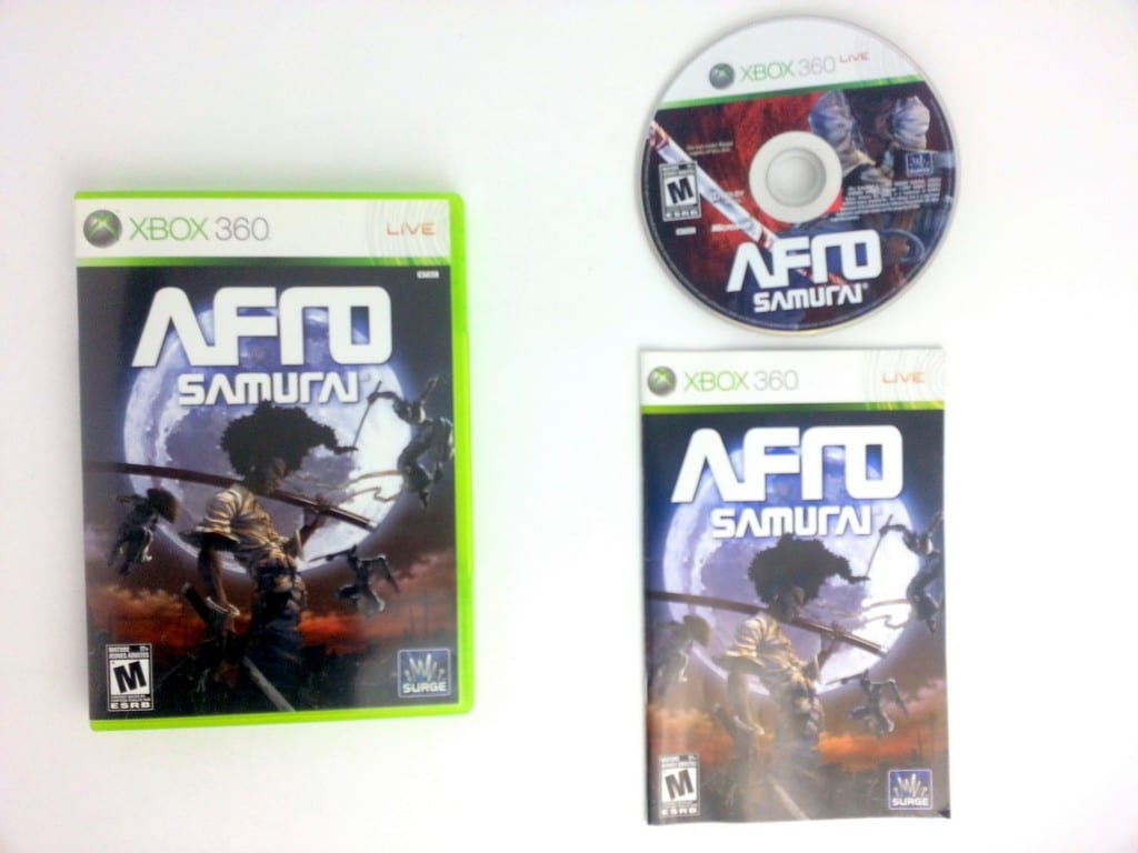 Afro Samurai game for Microsoft Xbox 360 -Complete