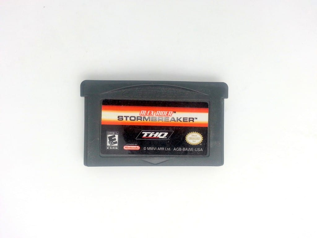 Alex Rider Stormbreaker game for Nintendo Gameboy Advance - Loose