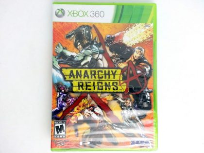 Anarchy Reigns game for Microsoft Xbox 360 - New
