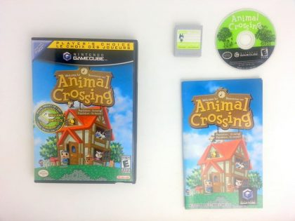 Animal Crossing game for Nintendo Gamecube -Complete