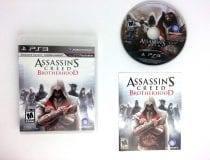 Assassin's Creed: Brotherhood game for Sony Playstation 3 PS3 -Complete