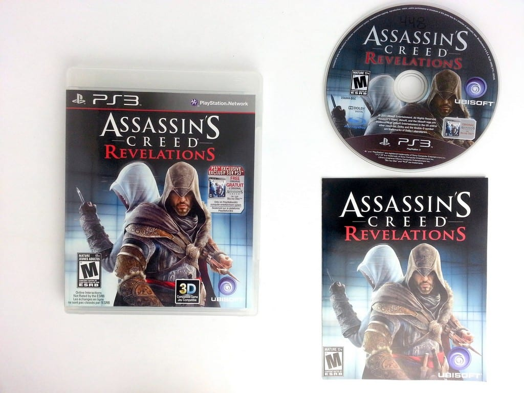 Assassins Creed Revelations game for Sony Playstation 3 PS3 -Complete