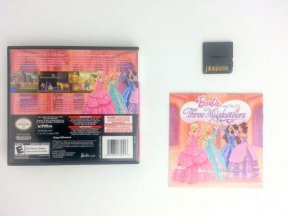 Barbie and the Three Musketeers game for Nintendo DS (Complete) | The Game Guy