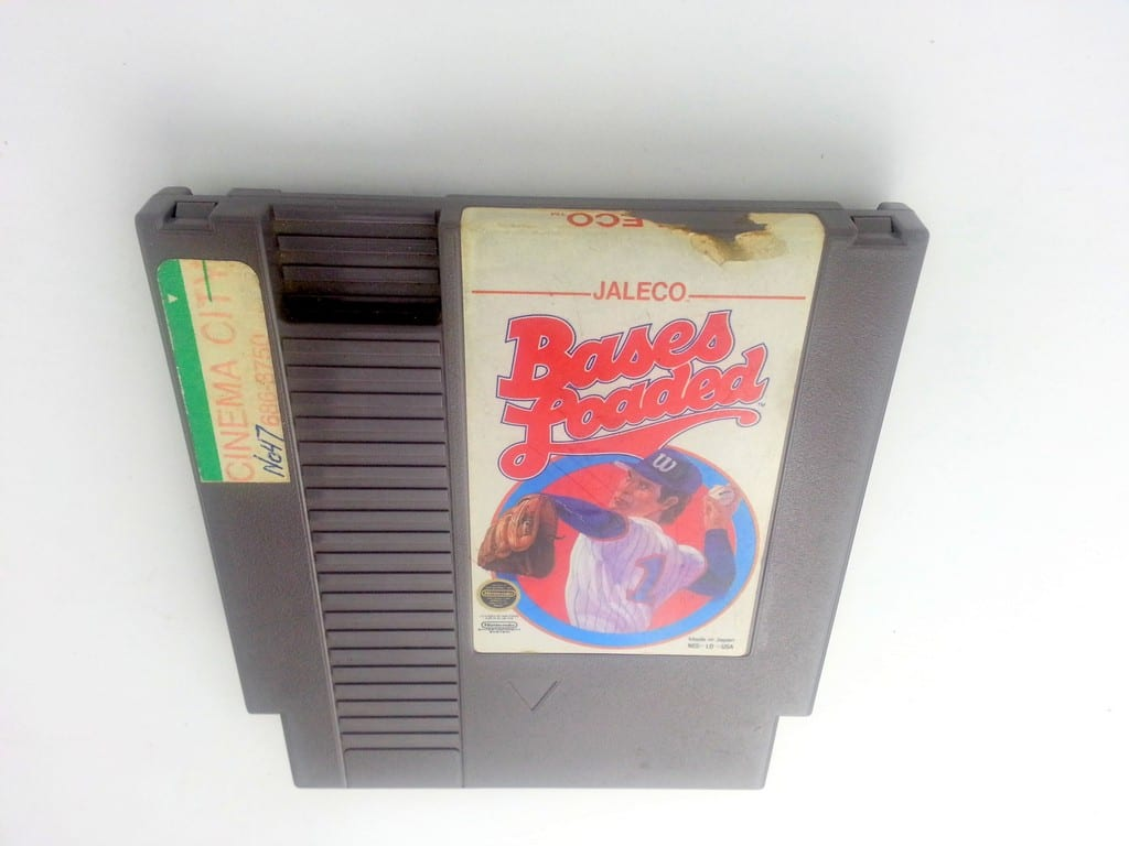 Bases Loaded game for Nintendo NES - Loose