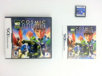Ben 10: Ultimate Alien Cosmic Destruction game for Nintendo DS -Complete