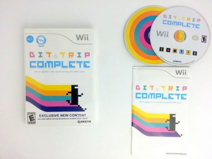 Bit.Trip Complete game for Nintendo Wii -Complete