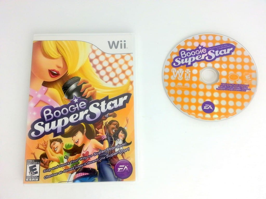 Boogie SuperStar game for Nintendo Wii -Game & Case