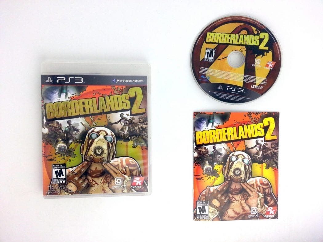 Borderlands 2 game for Sony Playstation 3 PS3 -Complete