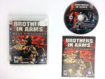 Brothers in Arms Hell's Highway game for Sony Playstation 3 PS3 -Complete