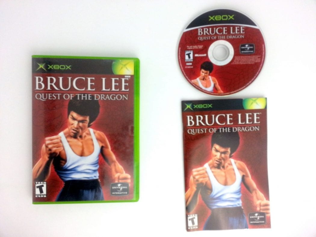 Bruce Lee Quest of the Dragon game for Microsoft Xbox -Complete