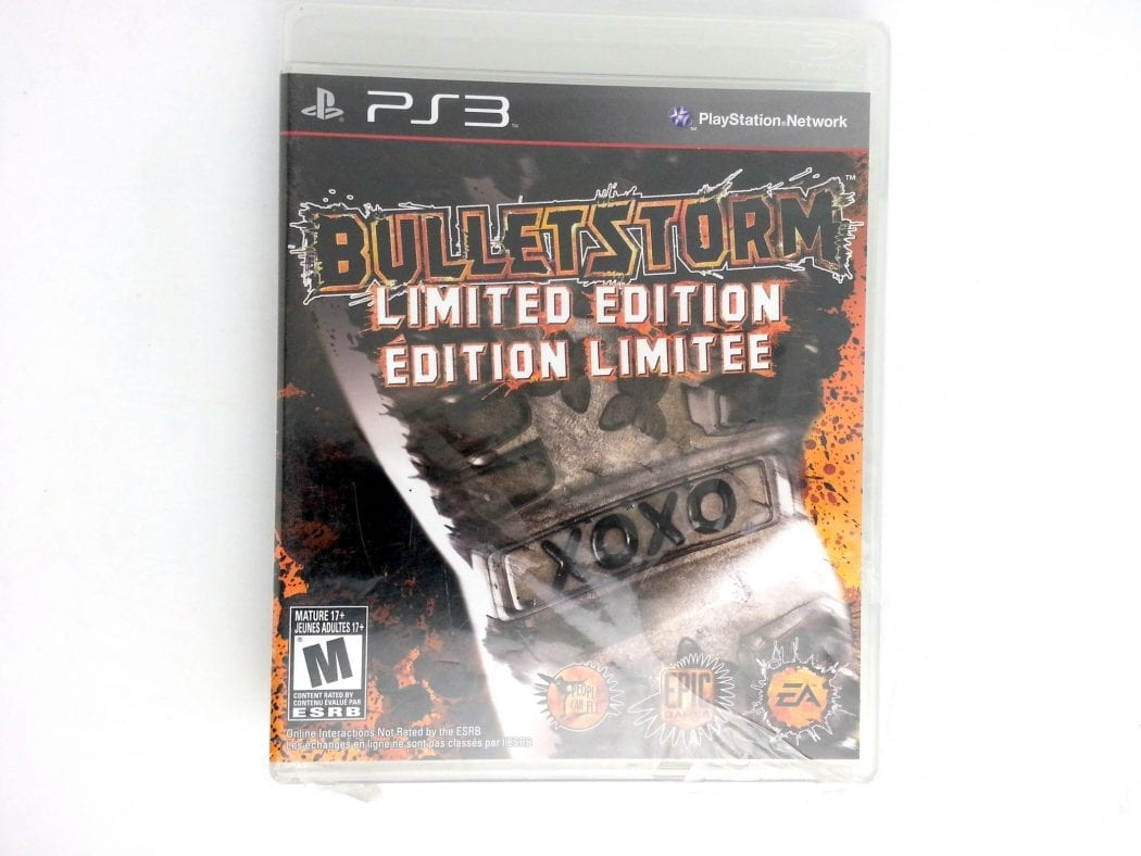 Bulletstorm game for Sony Playstation 3 PS3 -Complete