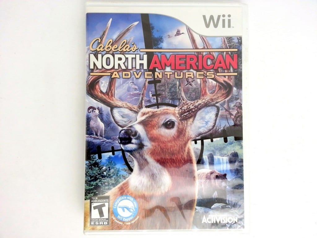 Cabela's North American Adventures 2011 game for Nintendo Wii - New