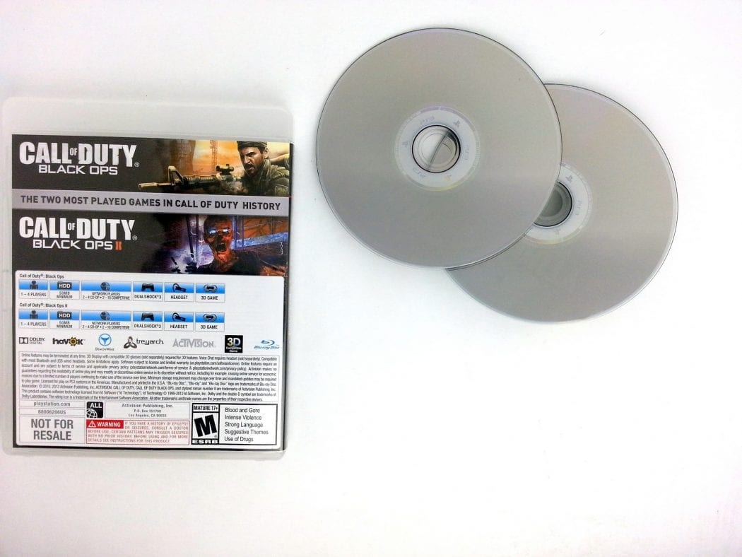 Call of Duty: Black Ops I and II Combo Pack game for Playstation 3 | The Game Guy