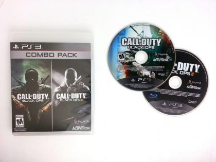 Call of Duty Black Ops I and II Combo Pack game for Playstation 3 PS3 -Game&Case