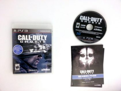 Call of Duty: Ghosts game for Sony Playstation 3 PS3 -Complete