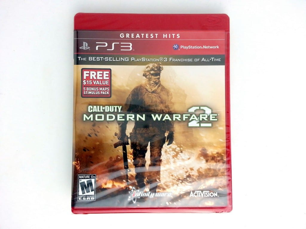 Call of Duty: Modern Warfare 2 game for Sony Playstation 3 PS3 - New