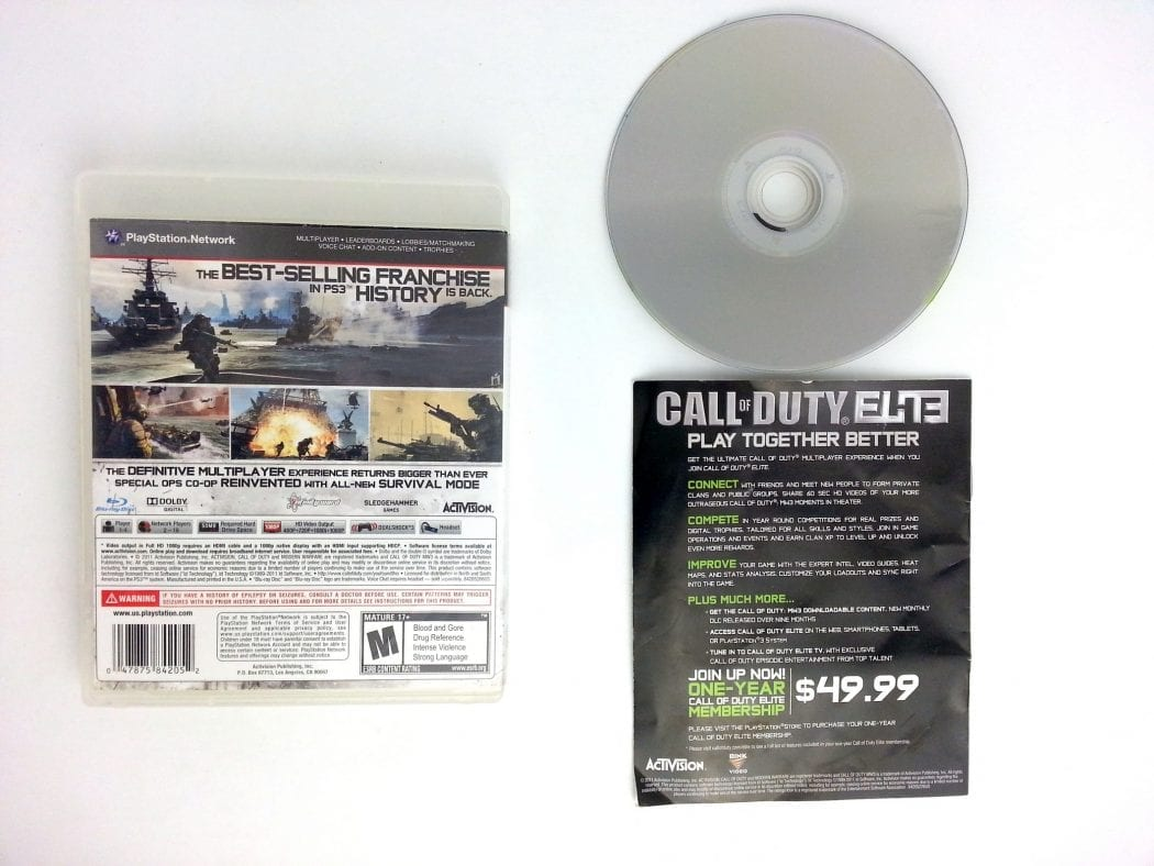 Call of Duty: Modern Warfare 3 game for Playstation 3 (Complete) | The Game Guy