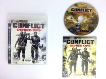 Conflict Denied Ops game for Sony Playstation 3 PS3 -Complete
