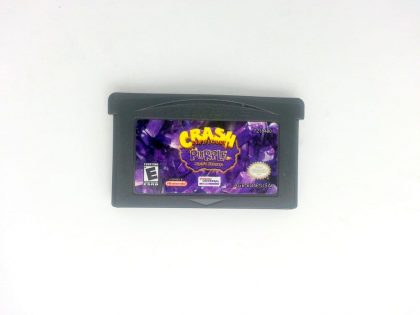 Crash Bandicoot Purple game for Nintendo Gameboy Advance - Loose