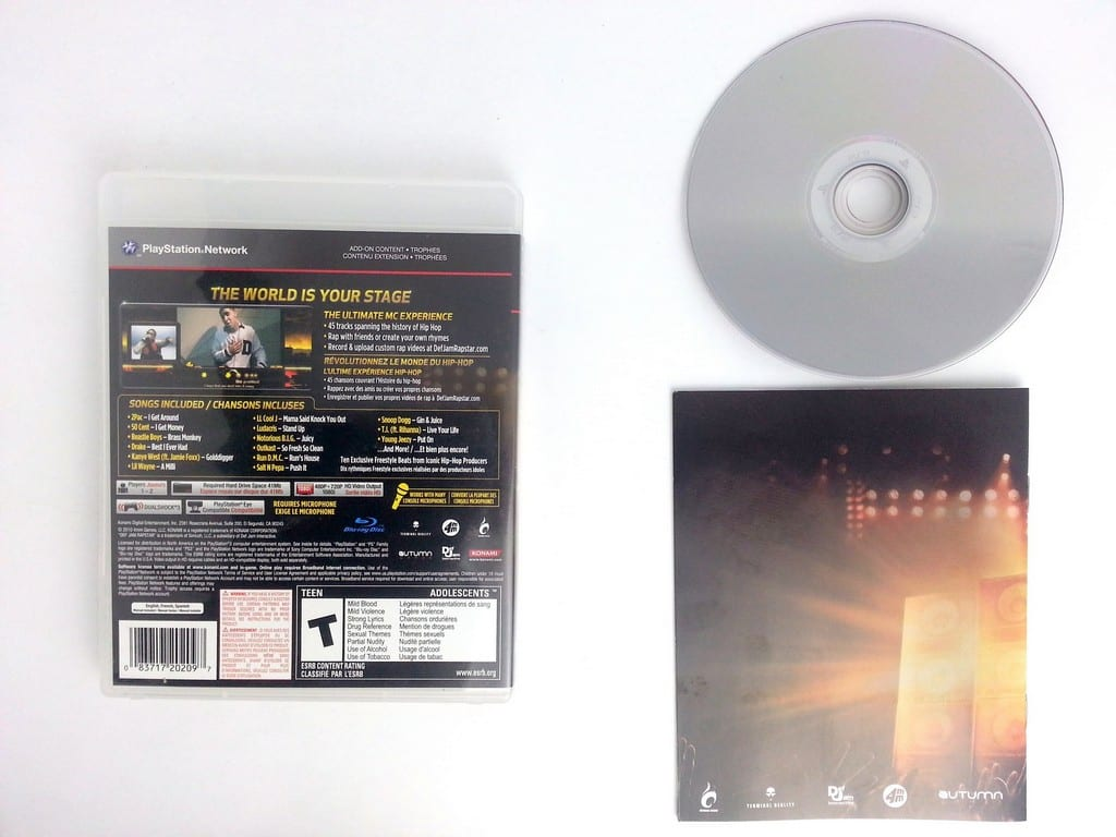 Def Jam Rapstar game for Playstation 3 (Complete) | The Game Guy