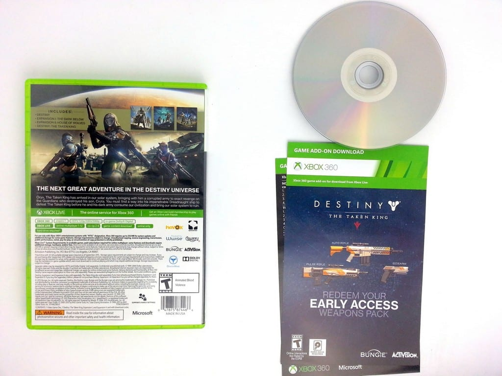 Destiny game for Xbox 360 (Complete) | The Game Guy