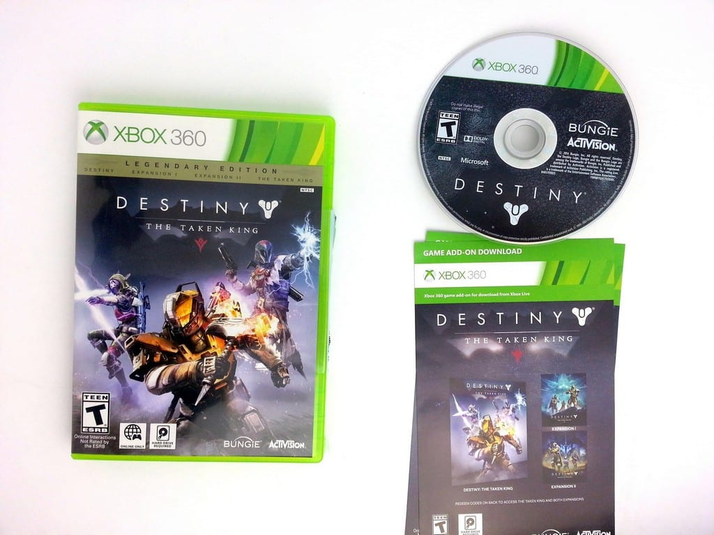 Destiny game for Microsoft Xbox 360 -Complete