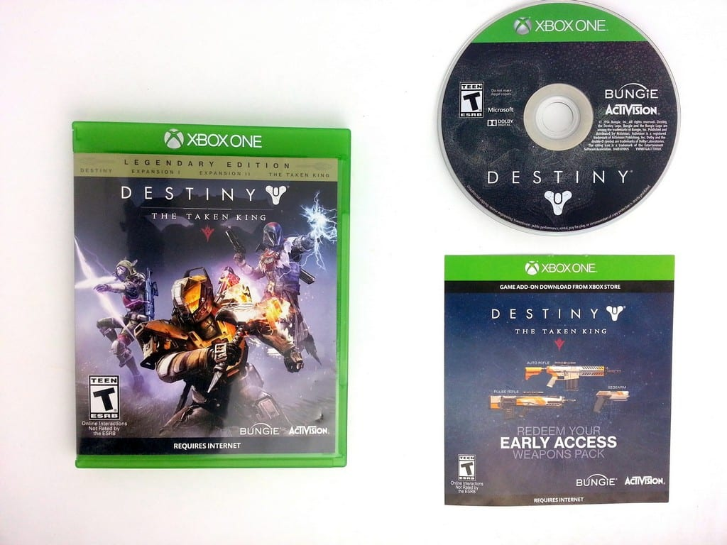 Destiny game for Microsoft Xbox One -Complete