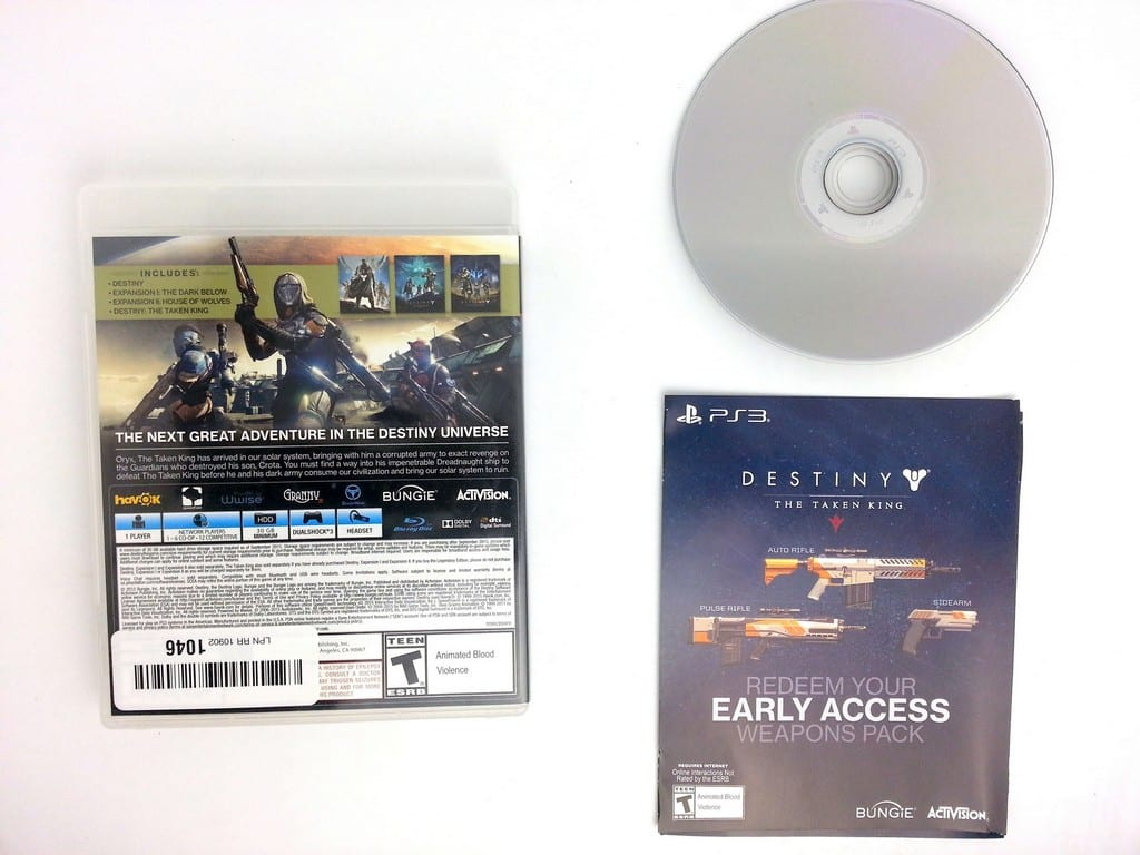 Destiny game for Playstation 3 (Complete) | The Game Guy
