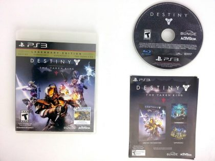 Destiny game for Sony Playstation 3 PS3 -Complete
