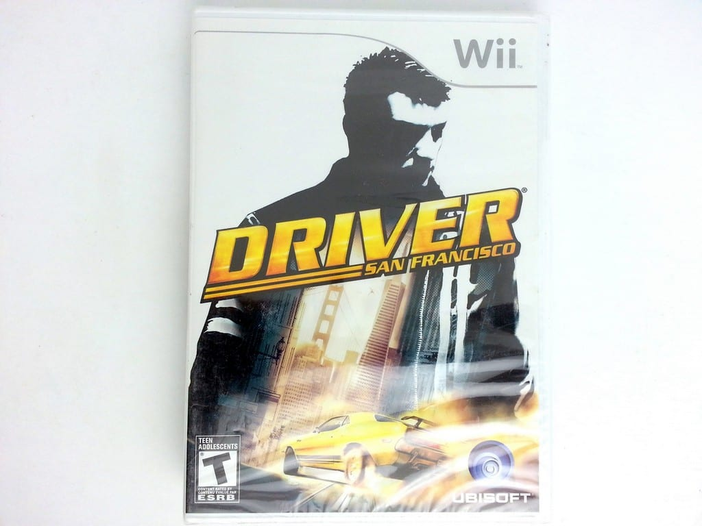 Driver: San Francisco game for Nintendo Wii - New