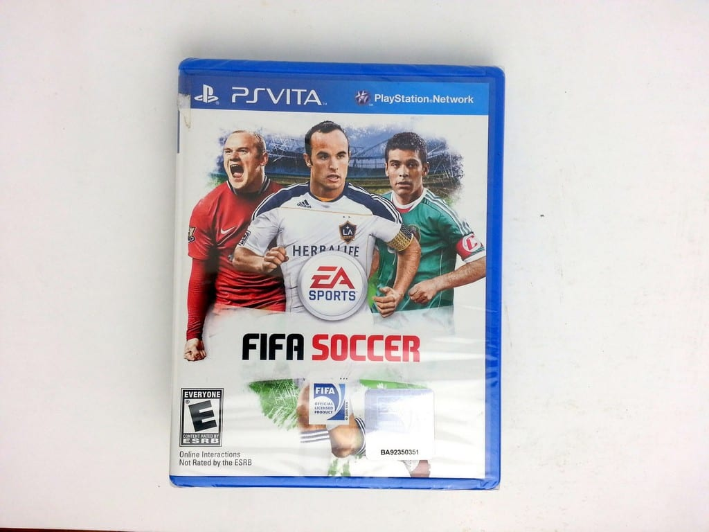 FIFA Soccer 12 game for Sony PlayStation Vita - New