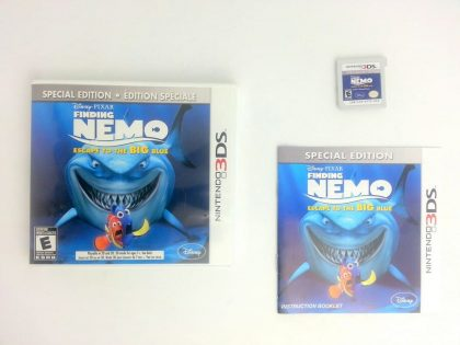 Finding Nemo: Escape To The Big Blue game for Nintendo 3DS -Complete