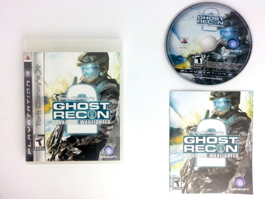 Ghost Recon Advanced Warfighter 2 game for Sony Playstation 3 PS3 -Complete