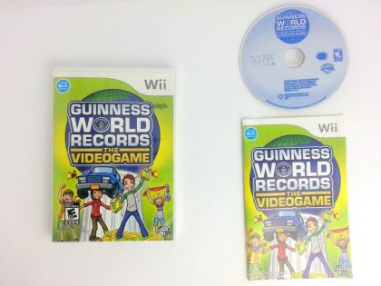 Guinness World Records The Video Game game for Nintendo Wii -Complete