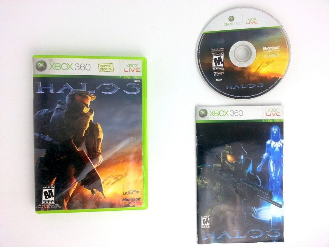 Halo 3 game for Microsoft Xbox 360 -Complete