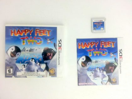 Happy Feet Two game for Nintendo 3DS -Complete