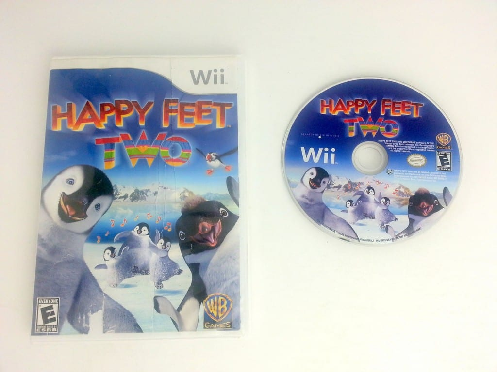Happy Feet Two game for Nintendo Wii -Game & Case