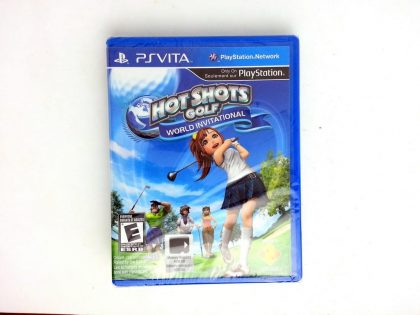 Hot Shots Golf World Invitational game for Sony PlayStation Vita - New