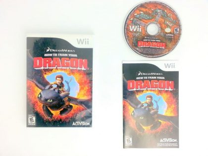 How to Train Your Dragon 2 game for Nintendo Wii -Complete