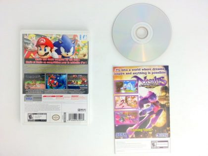 Mario and Sonic Olympic Games game for Wii (Complete) | The Game Guy