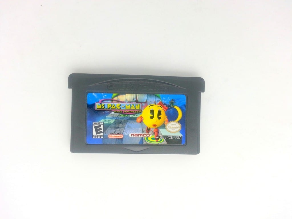 Ms. Pac-Man Maze Madness game for Nintendo Gameboy Advance - Loose