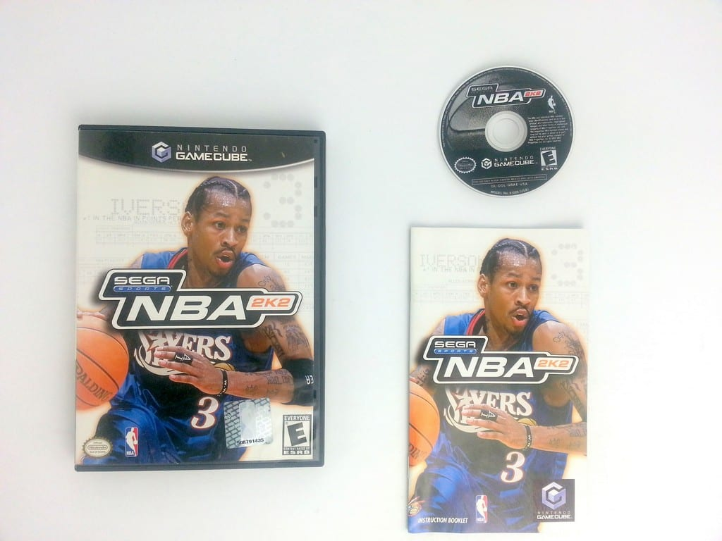 NBA 2K2 game for Nintendo Gamecube -Complete