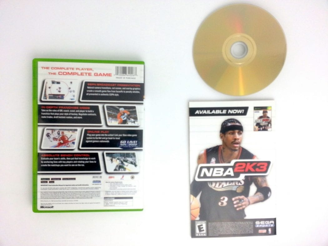 NHL 2K3 game for Xbox (Complete) | The Game Guy