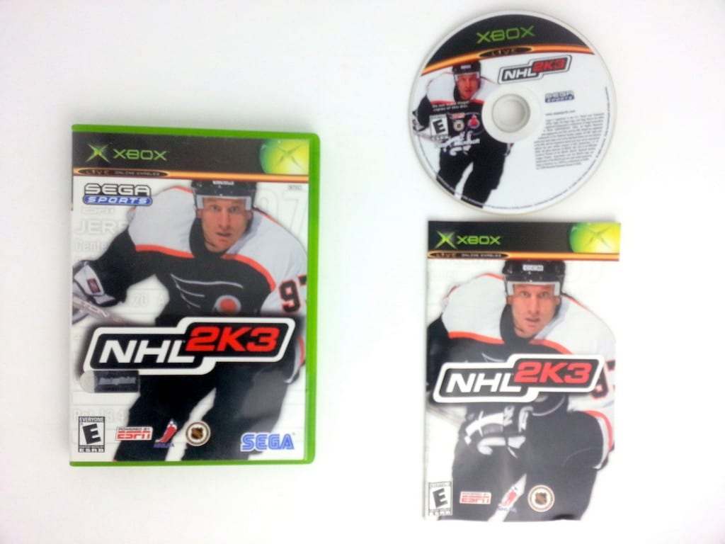 NHL 2K3 game for Microsoft Xbox -Complete