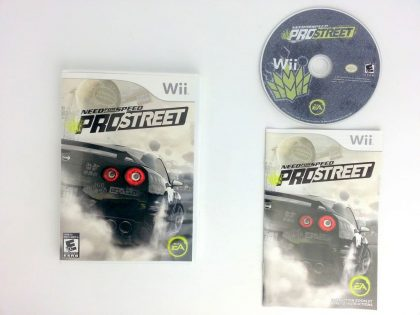 Need for Speed Prostreet game for Nintendo Wii -Complete